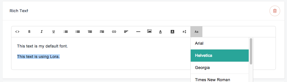 Use your Google fonts on your Teachable sales page