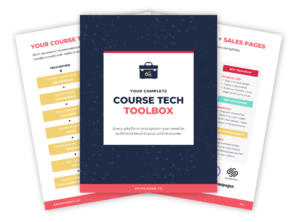 Course Tech Toolbox