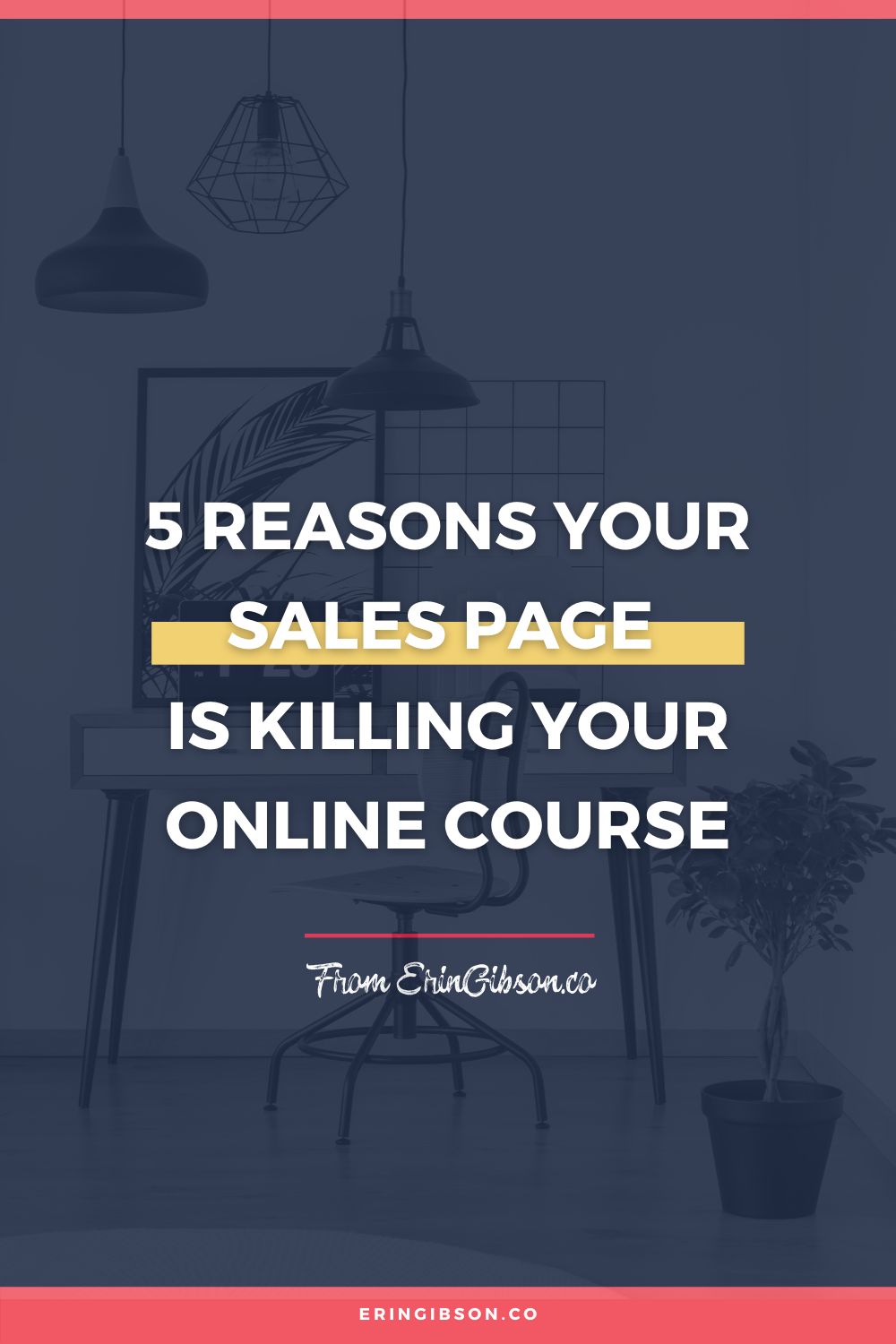 5 reasons your sales page is killing your online course